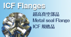 ICF Flanges超高真空部品